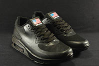 Черные подростковые кроссовки  Nike Air Max 90  Hyperfuse 36 размер