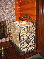 Кованые каминные принадлежности №418