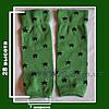 Гетры зеленые (звездочка) отп