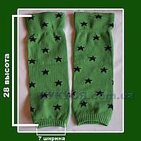 Гетры зеленые (звездочка) отп, фото 1