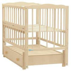 Кроватка детская Baby Sleep Aurora AKP-S-B Natural