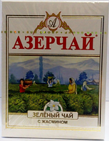Чай зеленый  Azercay ( Азерчай ) с жасмином, 100 гр