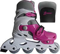Роликовые коньки X-Road PW-120 Pink