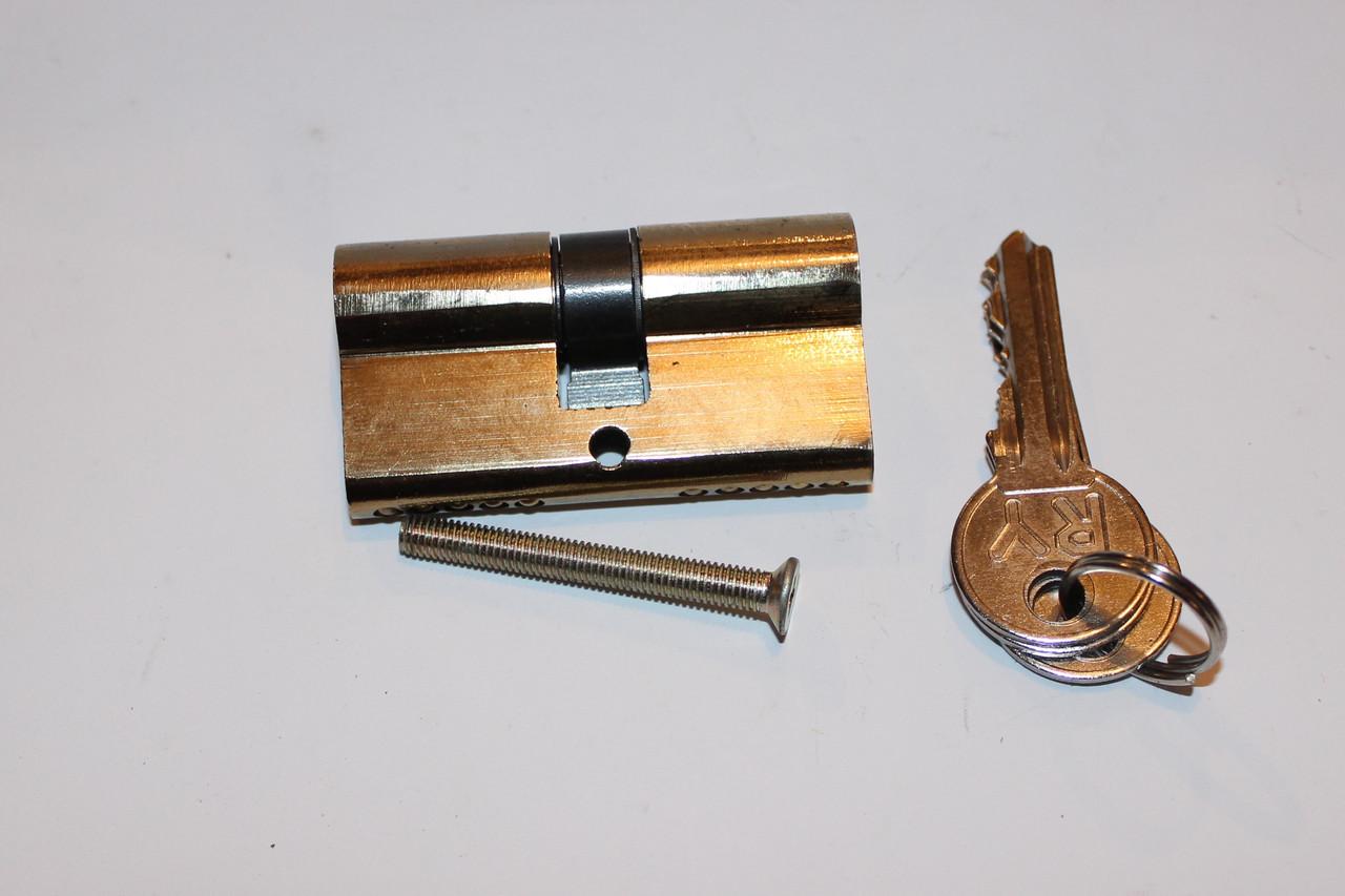 Серцевина замка 30/30 ключ/ключ 3 ключа