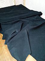 Натуральная кожа Нубук черный, фото 1