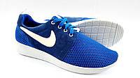 Мужские Кроссовки Nike Roshe blue clasic, фото 1