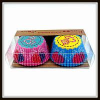 Бумажные формы (тарталетки) для выпечки кексов, фото 1