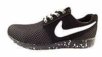 Мужские Кроссовки Nike Roshe black cosmo, фото 1