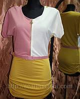 Платье женское, цветное р.42-48. магазин платьев http://scarbnichka.com.ua