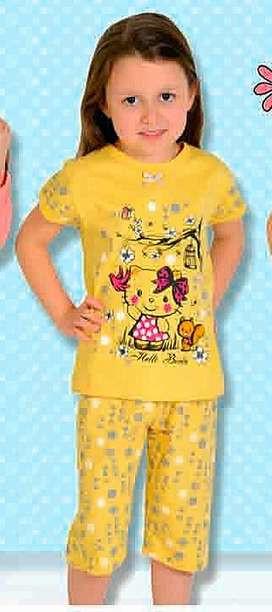 Пижама 427 желтая