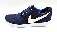 Мужские Кроссовки Nike Roshe blue night, фото 1