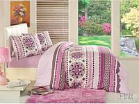 Комплект постельного белья 160х220 ALTINBASAK Dante, розовый.