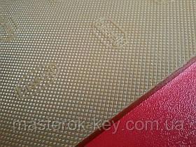 Полиуретан листовой набоечный BISSELL (Италия), art.30066T, размер 300*350*6.2мм, цв. бежевый