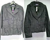 Пиджак женский серый р.36-42  Артикул: 124935 Цена розн: 171.00 грн.  Цена опт: 130.00 грн.