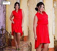 Платье батальное летнее с 414.1 гл