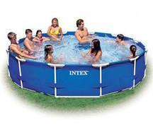 Каркасный бассейн Metal Frame 3,66х0,76м Intex 28210