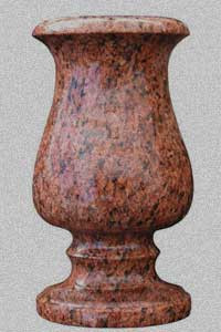 Гранитные вазы от производителя (Образец 580)