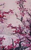 Женский превосходный шелковый шарф 170*50 ETERNO (ЭТЕРНО) ES2711-9