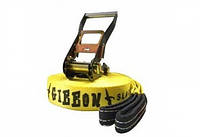 Слэклайн GIBBON CLASSICLINE X13 15 m Slackline Set yellow