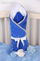 Конверт-одеяло (плед) для новорожденного на выписку/в коляску. Весна/Лето