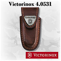Victorinox 4.0531 чехол из коричневой кожи для ножей серии 0.62..