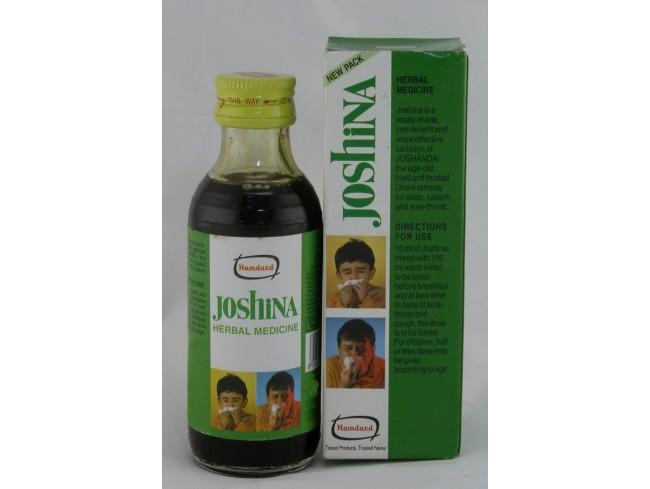 Джошина, Joshina, Хамдард, Hamdard, сироп от кашля