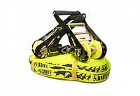 Слэклайн GIBBON FLOWLINE X13 18 m Slackline Set yellow
