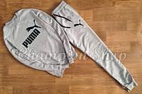 Спортивный костюм Puma серый