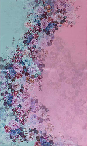 Замечательный женский шелковый шарф 172*50 ETERNO (ЭТЕРНО) ES2711-6