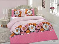 Комплект постельного белья 160х220 ALTINBASAK Romantik, розовый.