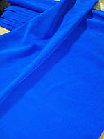 Натуральная кожа Спилок, цвет синий электрик