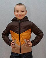 Демисезонная куртка на мальчика Уголок, фото 1