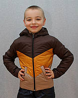 Демисезонная куртка на мальчика Уголок
