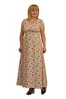 Платье макси - Модель Л222 (50р) (ф)