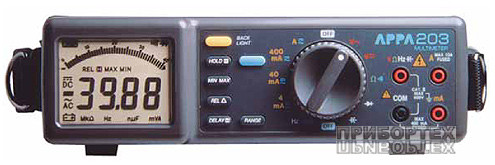 Мультиметри APPA 203