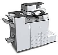 Высококачественный монохромный МФУ Ricoh Aficio MP 2554SP. Принтер/сканер/копир. Формат А3.
