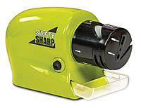 Точилка для Ножей и Ножниц  Swifty Sharp Motorized Knife Sharpener (ножеточка Свифти Шарп)
