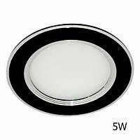 Светильник светодиодный Feron AL527 5W (LED панель) черный