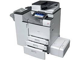 Монохромный МФУ Ricoh Aficio MP 2554ZSP. Цветная смарт-панель. Принтер/сканер/копир. Формат А3.