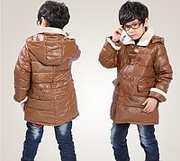 Зимняя куртка-пуховик на мальчика, фото 1