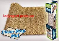 Супервпитывающий нескользящий коврик Clean Step Mat для прихожей, фото 1
