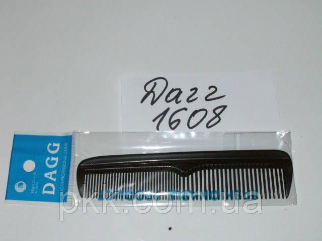 Гребень для волос DAGGчерныймужской карманный 1608