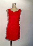 Платье Picati  шелк летнее красное