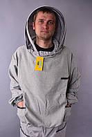 Куртка пчеловода евро лен габардин, фото 1