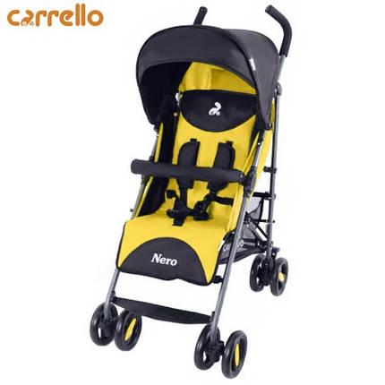 Коляска прогулочная Carrello - Nero Yellow, фото 2