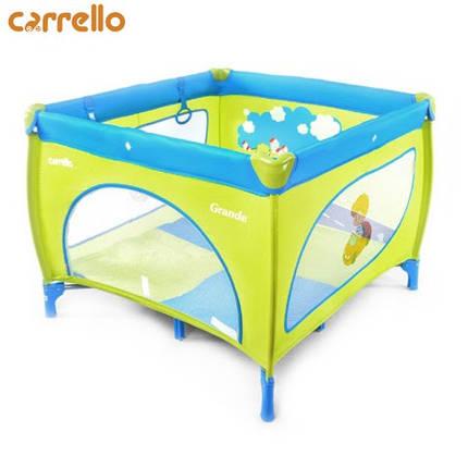 Манеж туристический Carrello - Grande (Blue) CRL-7401, фото 2