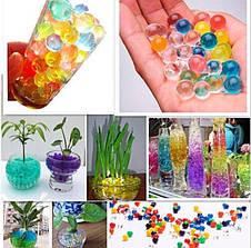 Гидрогель, аквагрунт,шарики orbeez  (150 шт, 7 цветов), фото 2