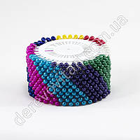Булавки декоративные разноцветыне, 4 см, 40 шт.