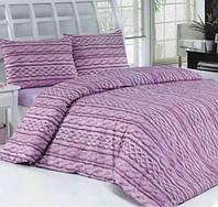 Комплект постельного белья 160х220 ALTINBASAK Tweed, лиловый.