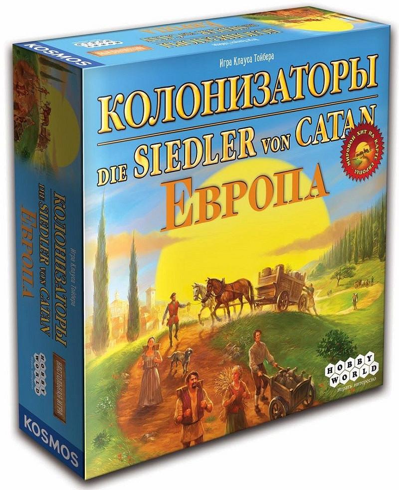 """Настольная игра """"Колонизаторы. Европа"""" Hobby World"""